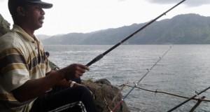 Ikut Lomba Mancing di Lut Tawar, Edy Target Relo saja untuk Juara