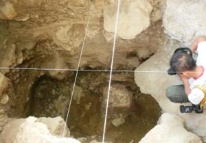 Kotak gali penelitian arkeologi di Loyang Mendale Takengon. (ist)