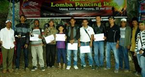 Ini Pemenang Lomba Pancing di Danau Lut Tawar