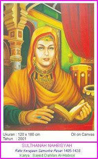 Ratu Nahrisyah Sultanah Pertama di Aceh
