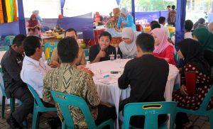 Suasana pertemuan panitia Gayo Art Summit dengan Kadisbudpar Aceh, Kamis 20 Juni 2013. (LGco | Boby Mulya)
