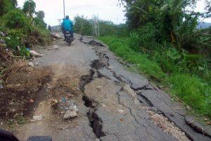 Salah satu ruas jalan lintas Blang Gele-Bies.(LGco.Ria D)