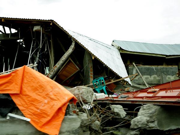 Bangunan rumah warga di kampung Pantan Jerik Kec. Kute Panang Aceh Tengah (LintasGayo.co : Muna)