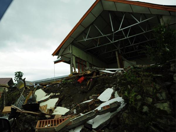 Bangunan Sekolah Dasar di Kampung Pantan Jering Kec. Kute Panang Aceh Tengah (LintasGayo.co : Muna)