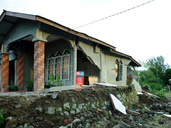 Rumah warga di Kampung Wih Nongkal Toa Kec. Kute Panang Aceh Tengah (LintasGayo.co : Muna)