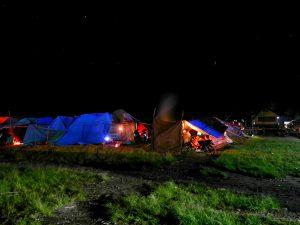Tenda pengungsian di Desa Arul Kumer Kec. Silih Nara - Aceh Tengah (LintasGayo.co : Muna)