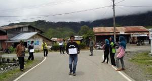 Masyarakat Jagong Secara Massal Galang Dana Korban Gempa