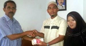 Santri Darul Ihsan Aceh Besar Salurkan Bantuan Gempa Gayo Melalui PWI Aceh