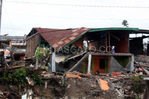 Kampung Jaluk pascagempa.(LGco-aman zaiza)