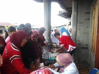 Dinkes Aceh Tenggara Adakan Pengobatan di Desa Terisolir