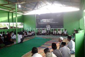 Serahterima masjid sementara bagi masyarakat Blang Mancung.(LGco-Adie EM)