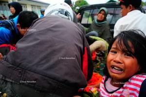 Korban runtuhan gempa hari pertama, asal Simpang Kemili Kecamatan Wih Pesam Bener Meriah.(Fauzi Ramadhan-Gayo Discover),