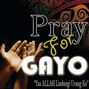 pray for gayo