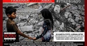 "Minggu Sore, Illiza Sa'aduddin Djamal Buka Pameran Foto ""Pray For Gayo"""