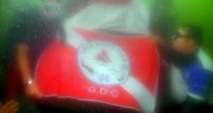 Pertamakali, Merah Putih Berkibar di Bawah Air Lut Tawar