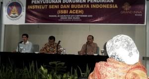 Pendirian ISBI Aceh Masuki Tahap Penyempurnaan