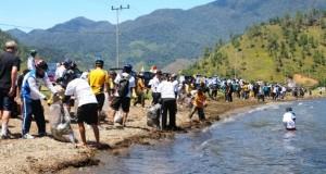 Jelang Idul Adha, HMJ Himaqua UGP Gelar Peduli Danau Lut tawar