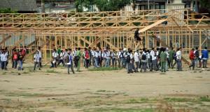 [Foto] Kelas Darurat SMKN 3 Takengon Tak Siap Pakai