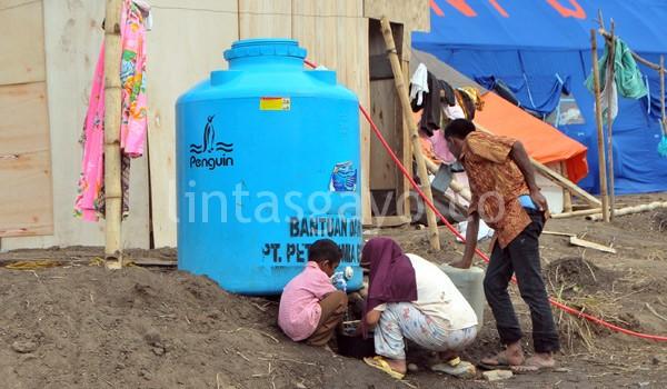 Kebutuhan air cukup tersedia. (Kha A Zaghlul)