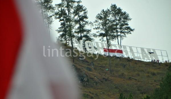 Merah Putih di Bur Gayo Takengon. (Kha A Zaghlul)
