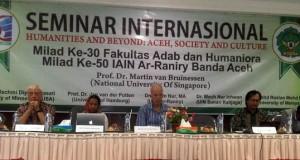 Fakultas Adab dan Humaniora IAIN Ar-Raniry Gelar Seminar Internasional