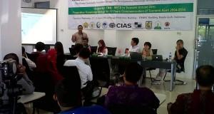 Hibeuna dan Prodi S2 Kebencanaan Unsyiah Gelar International Conference