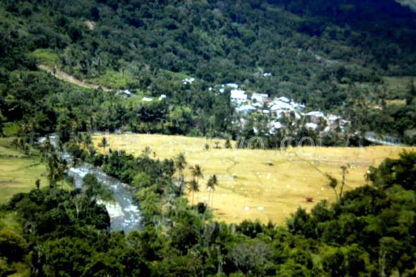 Pesona Kampung Ketol sebelum gempa.(LGco-Aman Renggali)