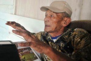Sukamto, karyawan Aman Kuba sehaj tahun 1978 hingga kini. (khalis)