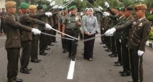 Pangdam IM yang baru Mayjen TNI Pandu Wibowo,SE tiba di Banda Aceh
