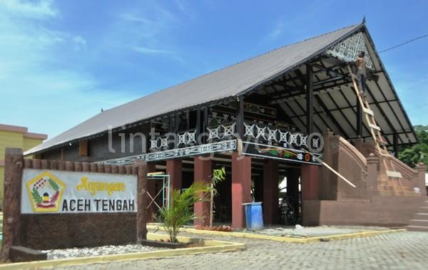 Anjungan Aceh Tengah. (Supri Ariu)