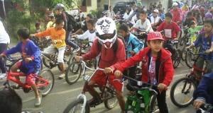 Di Hari Radio 2013, RRI Takengon Gelar Indonesia Bersepeda