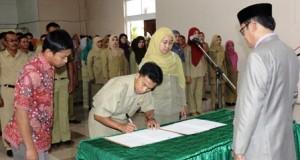 Pemkab Aceh Tengah Lantik Pejabat Eselon III dan IV