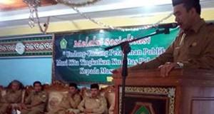 Bupati dan Kakankemenag Aceh Tengah Hadiri Pengajian Ulama dan Umara Linge