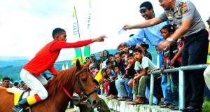 Jum'at Siang, Joki Kuda Gayo Ikuti Wawancara Pemilihan Joki Terbaik