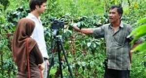 Petani kopi Gayo pemateri pertemuan 35 negara
