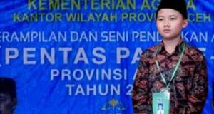 Syukur dan Bangga, Anak Gayo Juara Nasional Hibzil Quran