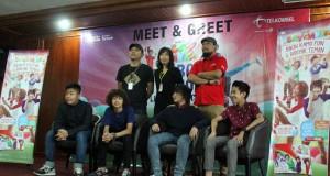 Konser Coboy Junior di Banda Aceh Didukung Telkomsel