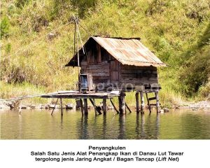 Penyangkulen di Danau Lut Tawar (Foto Koleksi : Muna Ardi)