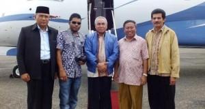 Tumpangi Pesawat Pribadi, Ketum DPP Perhiptani Kunjungi Takengon