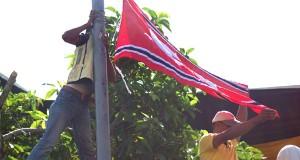 Aksi Massa Terus Berlangsung, Sebelum Ada Keputusan Bendera Aceh Dikibarkan
