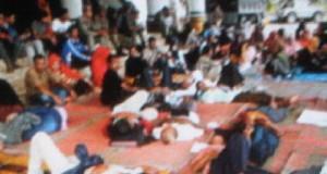 Korban penyerobotan lahan PT. Arun sudah 2 hari tempati kantor Gubernur Aceh