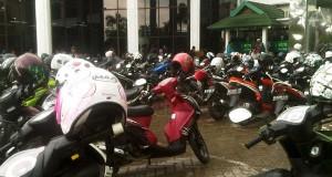 Hari Pertama kerja, Bank Aceh Pusat Padat