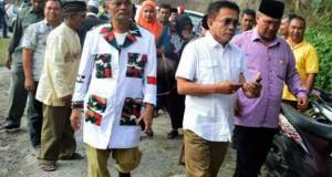 Tengku Agam melayat ke rumah duka Alm. Ilham Ilyas Leube