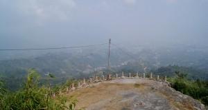 Kabut asap ganggu keindahan pemandangan Takengon