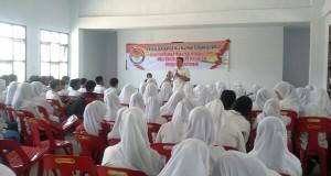 Panwaslu Aceh Tengah sosialisasi sejuta relawan kepada pemilih pemula