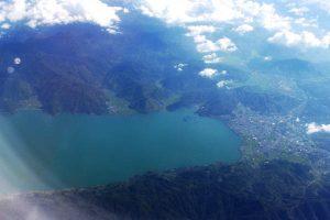 Danau Lut Tawar dan Kota Takengon.(LGco - Salman Yoga S)
