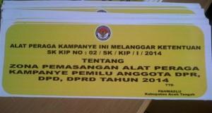 Waw ! di Aceh Tengah, ada 10.434 pelanggaran kampanye