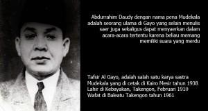 """[Syaer Gayo] Zat ni Allah """"Mudekala"""""""