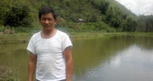 Arifin, pembudidaya benih ikan dengan sehektar kolam