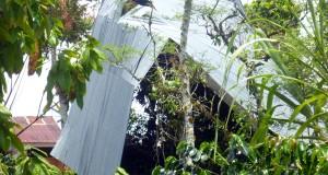 Angin puting beliung terjang 10 rumah warga Sukarami